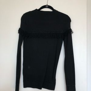 Black Topshop blouse